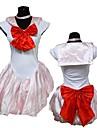 Pink Polyester Hot Girl Sailor Moon Cosplay Halloween Costume