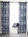 Un Panneau Le traitement de fenetre Neoclassique Chambre a coucher Polyester Materiel Rideaux Tentures Decoration d\'interieur For Fenetre