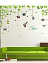 Wall Stickers Wall Decals, Tree Photo Sticker PVC Wall Stickers