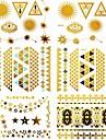 #(15) Tatouages Autocollants Series bijoux MotifHomme Femelle Adulte Adolescent Tatouage Temporaire Tatouages temporaires