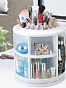 360 ° Rotating Cosmetics Storage Stand Box Makeup Brush Pot Cosmetic Organizer(3 Selectable Colors)