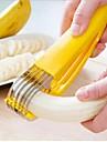 banane tranche, en acier inoxydable 17,5 x 4 x 3,8 cm (6,9 × 1,6 × 1,5 pouces)