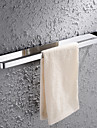 HPB™ Contemporary Chrome Finish Brass Wall Mounted Towel Bar