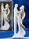 Vârfuri de Tort Nepersonalizat Ceramică Nuntă / Petrecerea Bridal Shower Alb Temă Grădină Cutie de Cadouri