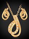 Set bijuterii imitație de diamant imitație de diamant La modă Seturi de bijuterii Petrecere Ocazie specială Zi de Naștere Cadouri de nunta