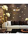 stickers muraux stickers muraux, des fleurs de style mur de pvc de autocollants