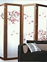 miljö avtagbar persika blossom pvc vägg sticker