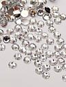 5000pcs 3mm claires circulaire ongles de diamant art decorations