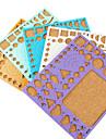 modele de marque quilling papier bricolage art de l\'artisanat de decoration (couleur aleatoire, 21x18cm)