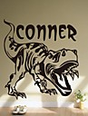 Environmental Removable Dinosaur PVC Wall Sticker