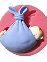 barnet wrap med swaddle fondant tårta formar choklad mögel för köket bakar för socker godis