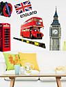 environnement piece amovible de Londres bricolage sticker mural PVC