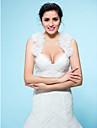 Wedding  Wraps Boleros OrganzaBlack/Pool/Brown/Burgundy/Ivory/White/Champagne/Chocolate/Daffodil/Dark Bolero Shrug