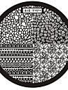 1 Abstrait - Doigt/Orteil/Autre - 6x6 - en Metal