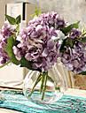 """Une succursale Polyester Hortensias Fleur de Table Fleurs artificielles #(12""""x10"""")"""