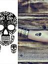 1 Tatueringsklistermärken Totemserier Ogiftig Ländrygg VattentätDam Herr Vuxen Tonåring Blixttatuering tillfälliga tatueringar