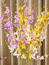 """37 """"l uppsättning av 1 flygande phalaenopsis siden tyg blommor"""