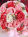 #(1) 1 Gren Styrofoam Roser Bordsblomma Konstgjorda blommor 26 x 26 x 33cm (10.24 x 10.24 x 12.99\'\'))