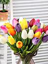 Gren Silke Tulpaner Bordsblomma Konstgjorda blommor 34 x 4 x 4(13.39\'\' x 1.57\'\' x 1.57\'\')