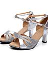Women\'s/Kids\' Dance Shoes Latin Leatherette Low Heel