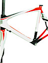 RB-NT28+FK-NG28 Neasty Brand 700C Full Carbon Fiber Frame and Fork 3K/12K  Weave 50/52/56CM White+Red+Silvery