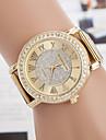 yoonheel pentru Doamne Ceas La Modă Ceas Casual Simulat Diamant Ceas Quartz imitație de diamant Metal Bandă Auriu Auriu