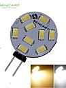 1 Stueck SENCART Dekorativ LED Spot Lampen MR11 G4 5W 360-380 LM 3000-3500K 6000-6500K K 9 SMD 5730 Warmes Weiss / Kuehles WeissDC 12 / AC 12
