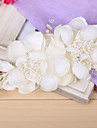Women Imitation Pearl Flowers With Wedding Headpiece