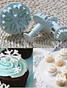 noel flocon de neige fondant gateau decoration de biscuits plongeur moule