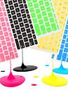 """coosbo® spanska EU-silikon tangentbord täcker flår för 11,6 """"/13.3"""" /15.4 """"/ 17"""" mac macbook air pro / näthinnan (blandade färger)"""