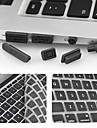 Enkay ultra-mince film protecteur de clavier et anti-poussiere bouchons universel pour MacBook Pro avec ecran Retina / air