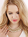 Vintage/Party/Work/Casual Imitation Pearl Statement
