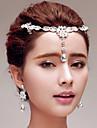 Drip Pendant Rhinestones Wedding/Party Headpieces/Forehead Jewelry