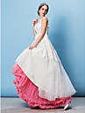 Slips Colourful Ankle-length Tulle Petticoat Ruffle Edge (More Colors)