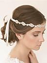 Europa och amerikanska lyx diamant pärla brudens hår leda lagen roll bruden tillbehör