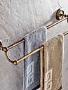 Barre porte-serviette - Antique - Laiton antique - Fixation au Mur