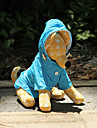 Dog Rain Coat Blue / Orange / Rose Spring/Fall Solid Waterproof