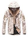 Exterieur Unisexe Hauts/Tops / Veste / Veste Softshell / Veste d\'Hiver Camping & Randonnee / ChasseEtanche / Respirable / Resistant aux