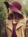 Femei Vintage/Informal Iarnă Bumbac Pălărie Melon/Cloș