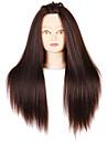 Yaki syntetiskt hår salong kvinnlig skyltdocka huvud med smink