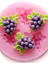 moules de cuisson en silicone raisins de cuisson pour gateau fondant bonbons de chocolat (couleurs aleatoires)