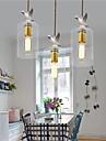Hängande lampor - Living Room/Bedroom/Dining Room/Sovrum/Matsalsrum - Rustik/Stuga/Kontor/företag - Glödlampa inkluderad