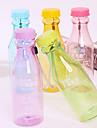 550ml återanvändbara okrossbar sodavattenflaska täta för idrott cykling (slumpvis färg)