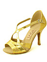 Chaussures de danse (Noir/Bleu/Rouge/Argent/Or) - Personnalisable - Talons personnalises - Similicuir - Danse latine/Salsa