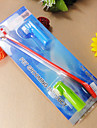 Trimnings / Städning Borstar Husdjur Skötselprodukter Dubbelsidigt Röd / Grön / Blå Plast