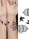 3 Tatouages Autocollants Autres Non Toxique Motif Bas du Dos ImpermeableEnfant Homme Femelle Femme Adulte Male AdolescentTatouage