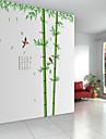 väggdekorationer väggdekaler stil bambuskog djup pvc väggdekorationer
