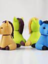 petits chevaux assemblent gomme en caoutchouc (couleur aleatoire)