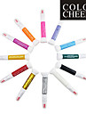 12PCS 2in1 Fine Pen Nib&Nail Polish Brush Nail Art Painting Pen Nail Art Decoration Kit