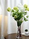 """34,3 """"konstgjord blomma 4 huvuden hortensia uppsättning 1"""